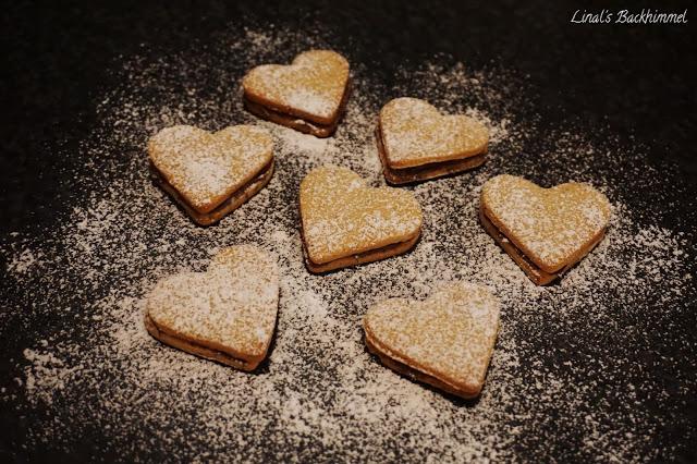 Nutella-Herzchen