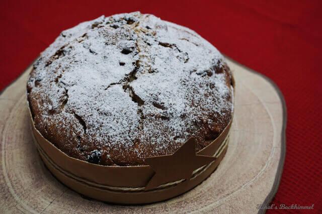 Schokoladen-Cranberry-Panettone