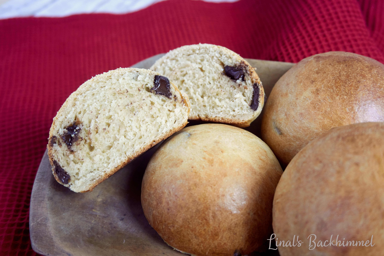Schoko-Brötchen - brotundbrötchenfürdenbrunch