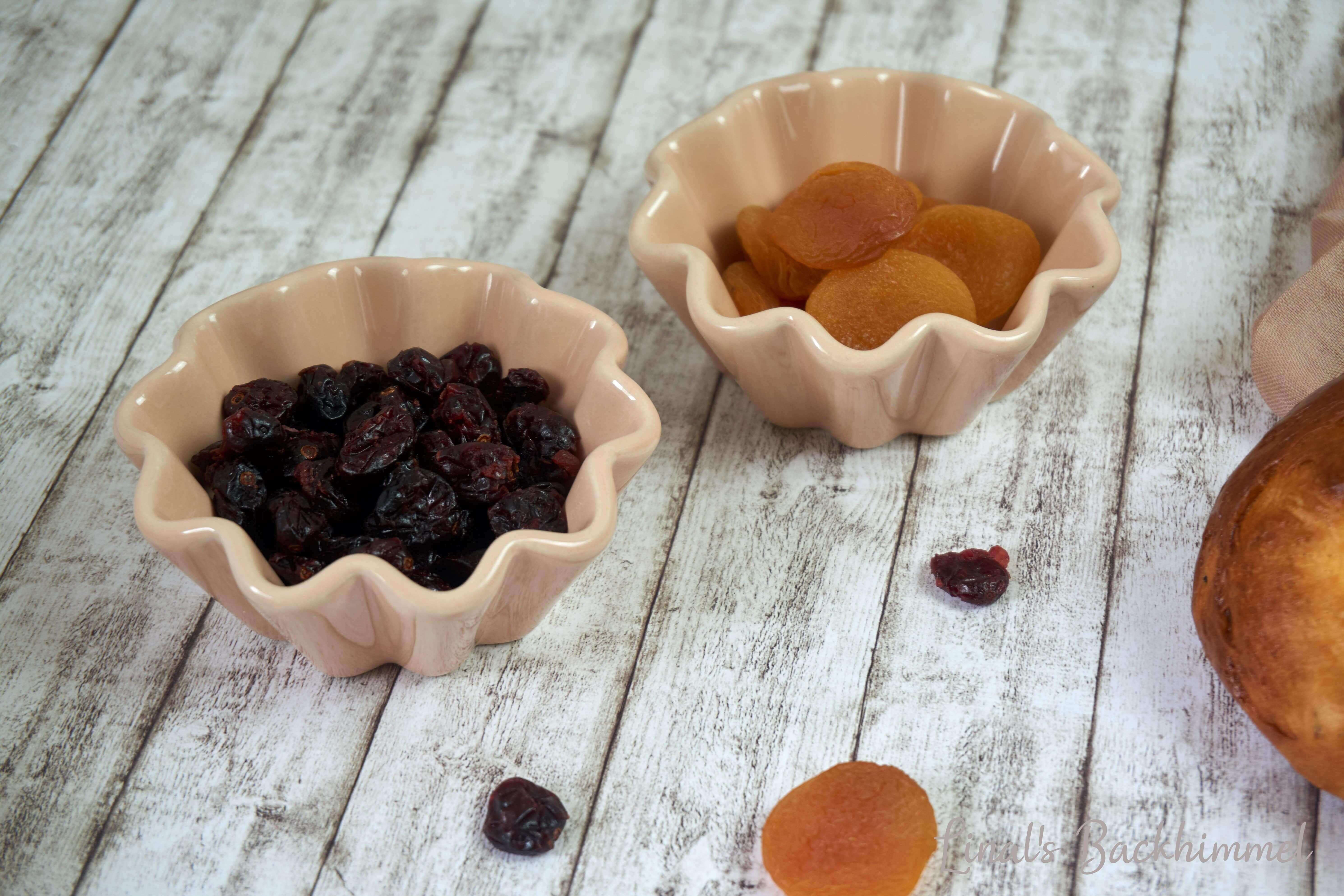 Cranberry-Aprikosen-Zopf - Hefewoche
