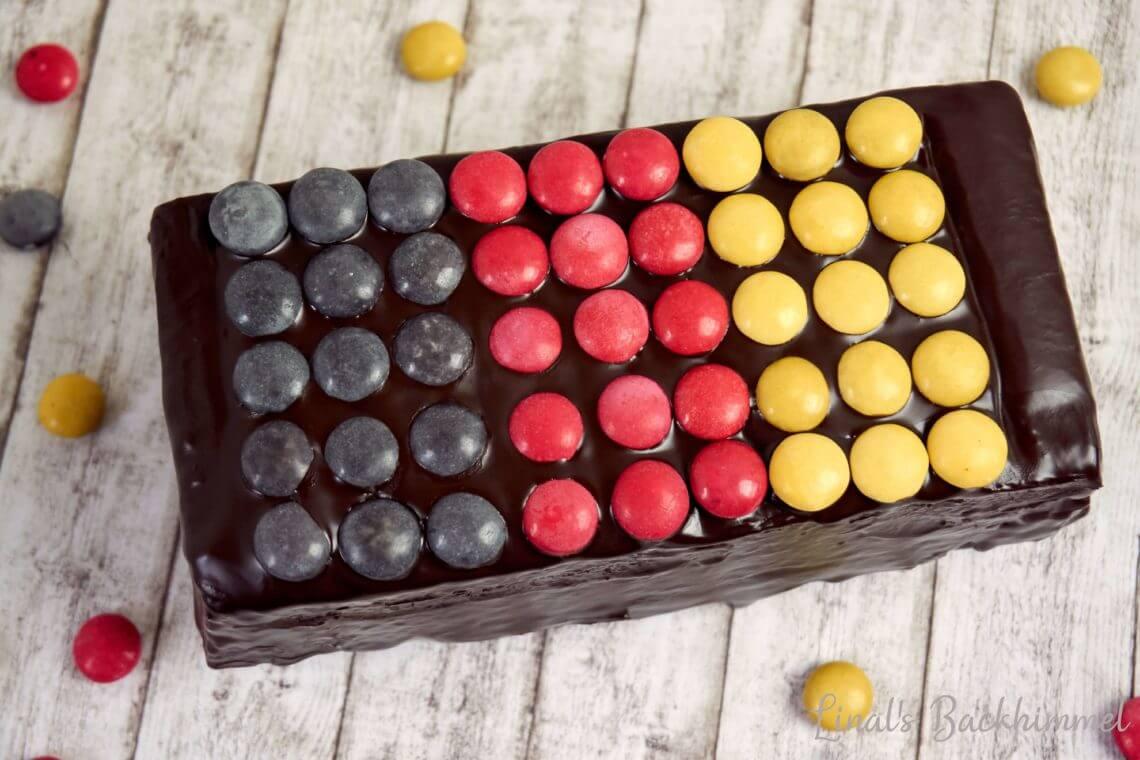 Deutschland Flagge Kuchen