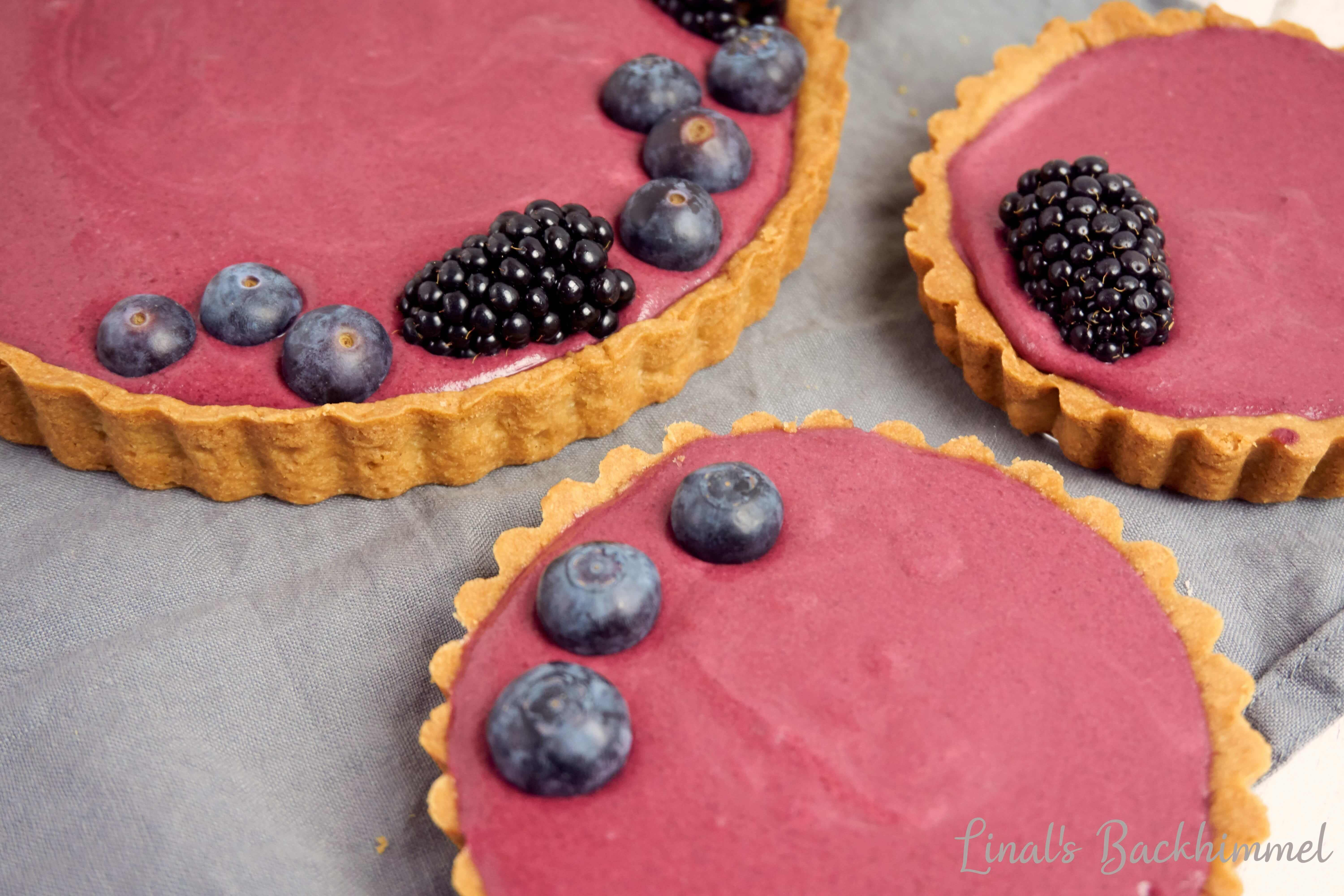 Brombeer-Mouse-Tarte
