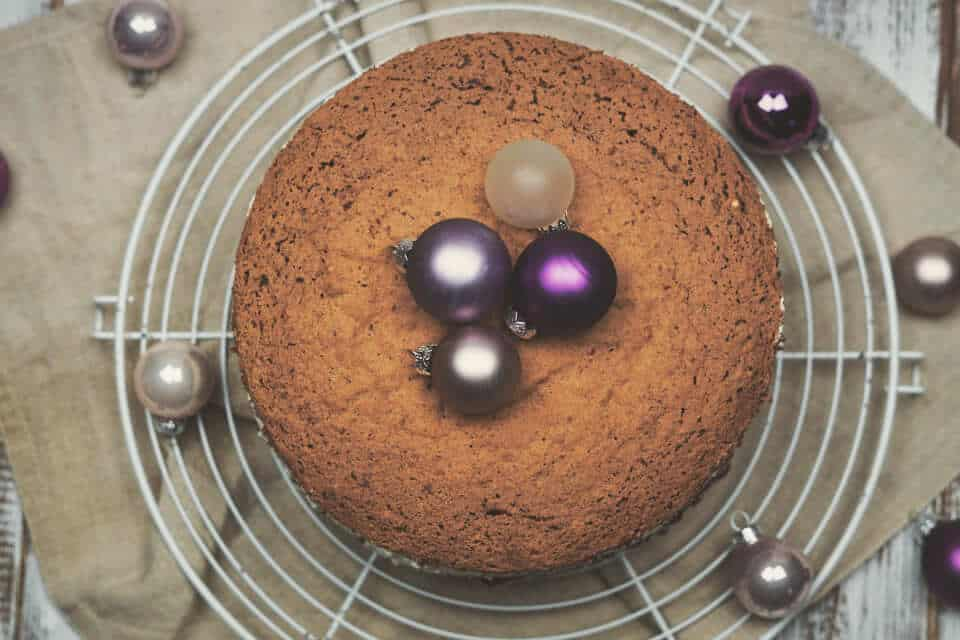 Schokoladen-Preiselbeer-Torte