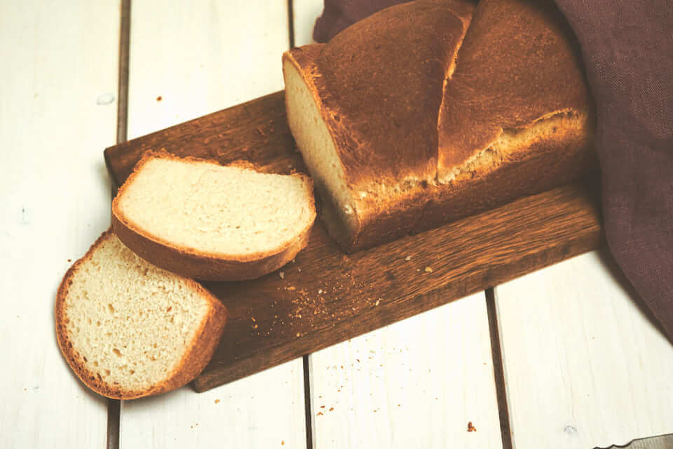 Toastbrot mit Salz-Hefe-Verfahren