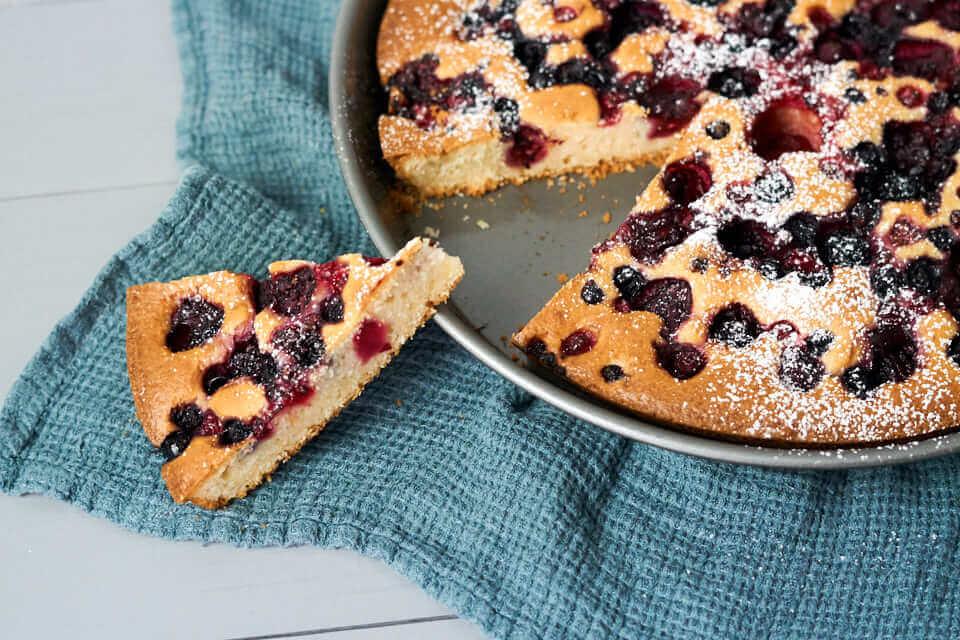 Joghurt-Beeren-Kuchen