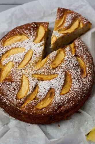 Joghurt-Apfel-Kuchen