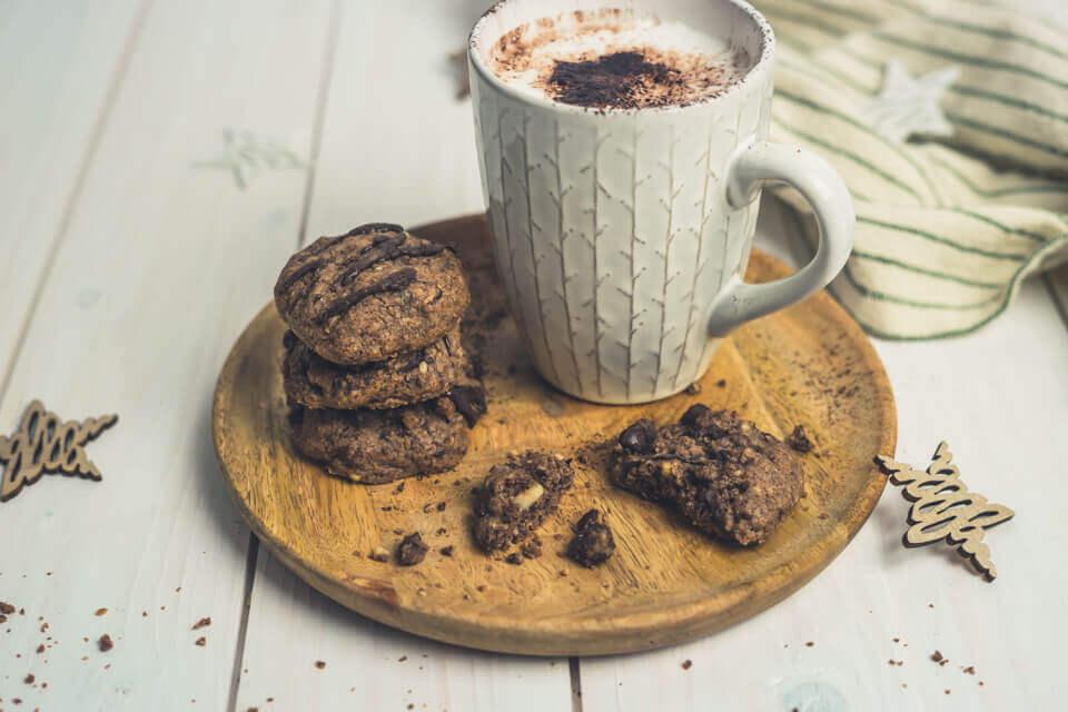 Haselnuss-Schoko-Cookies