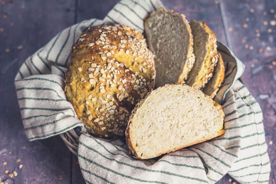 Kartoffel-Hafer-Brot