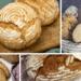 4 x selbstgebackenes Brot