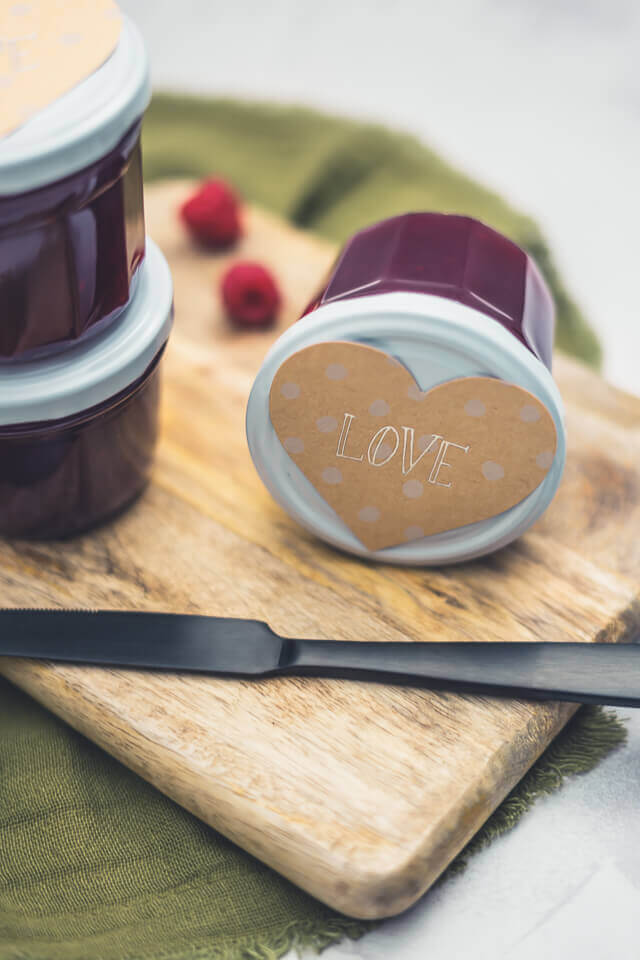 Himbeer-Johannisbeer-Marmelade