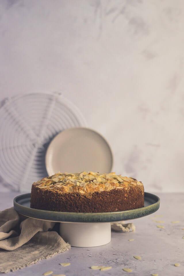 Norwegischer Rhabarberkuchen