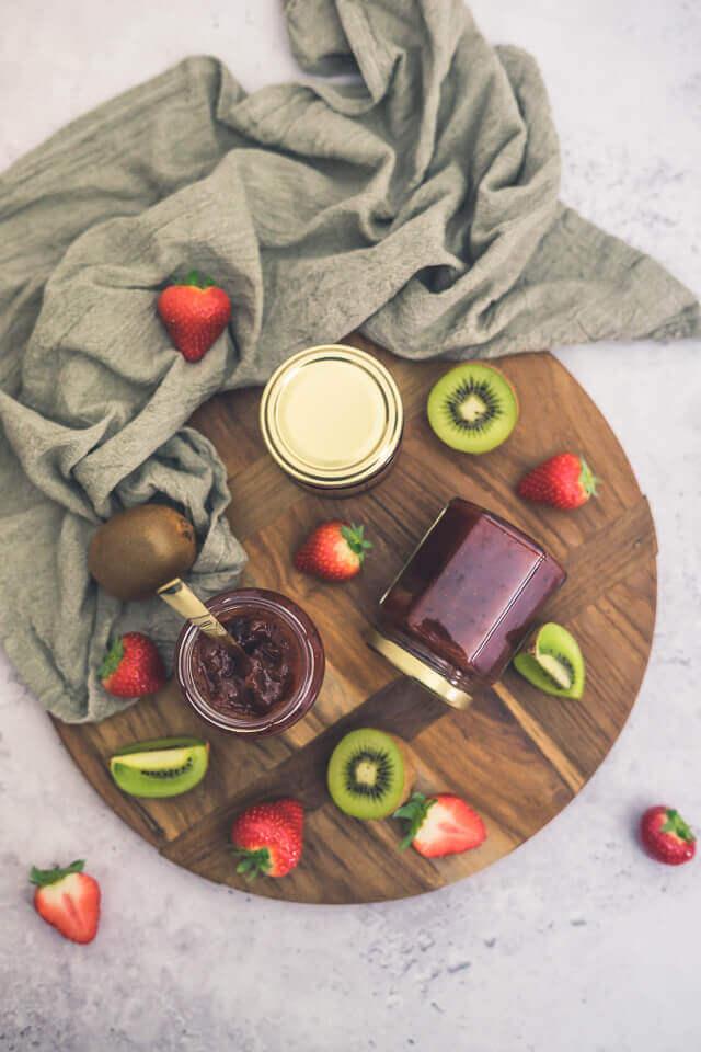Erdbeer-Kiwi-Marmelade